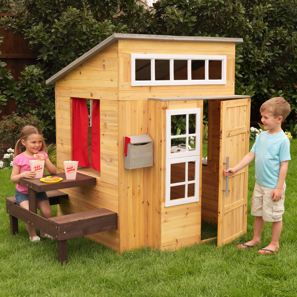 Kidkraft ~ Modern Outdoor Playhouse ~ Cubby