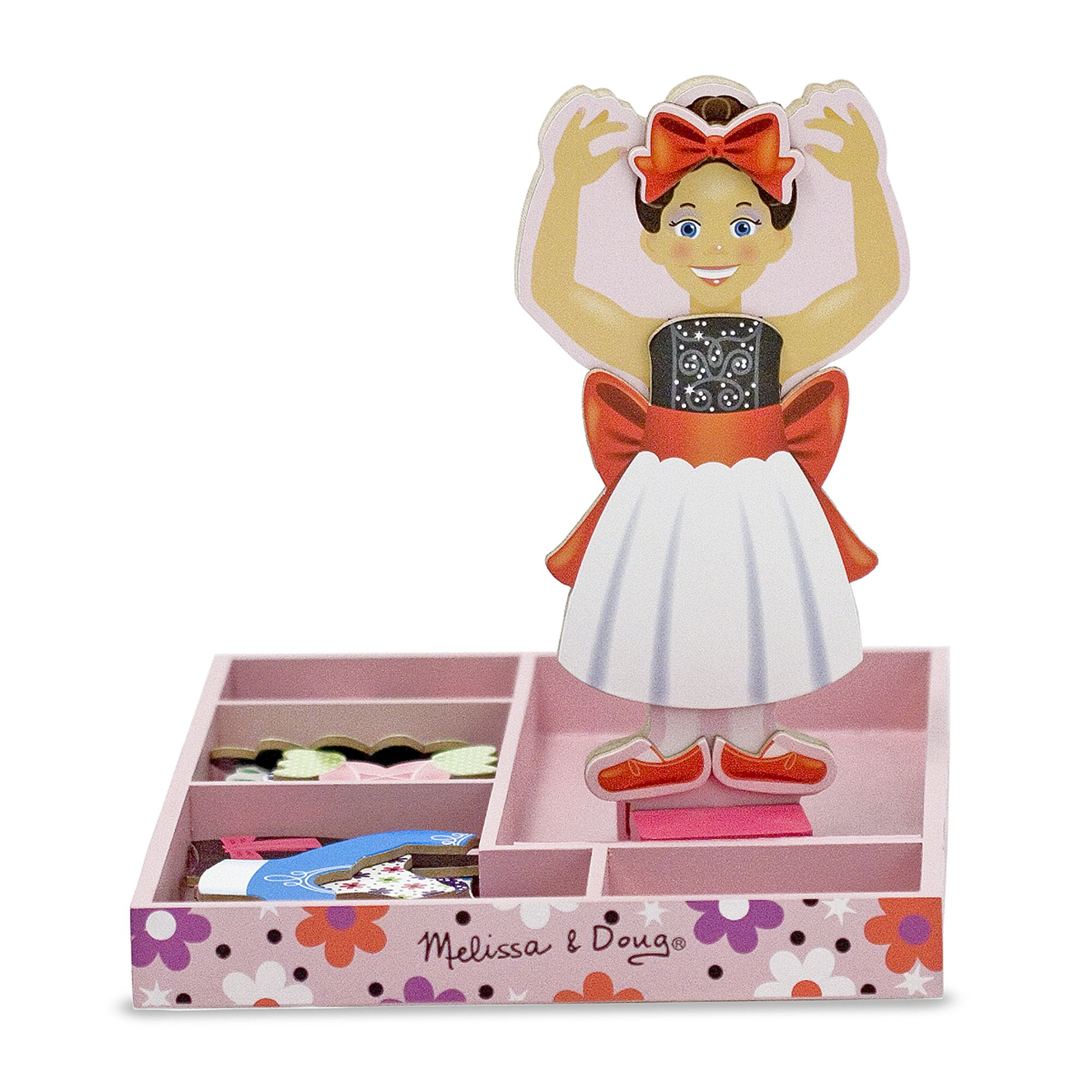 Melissa & Doug ~ Nina Ballerina Magnetic Dress-Up Set