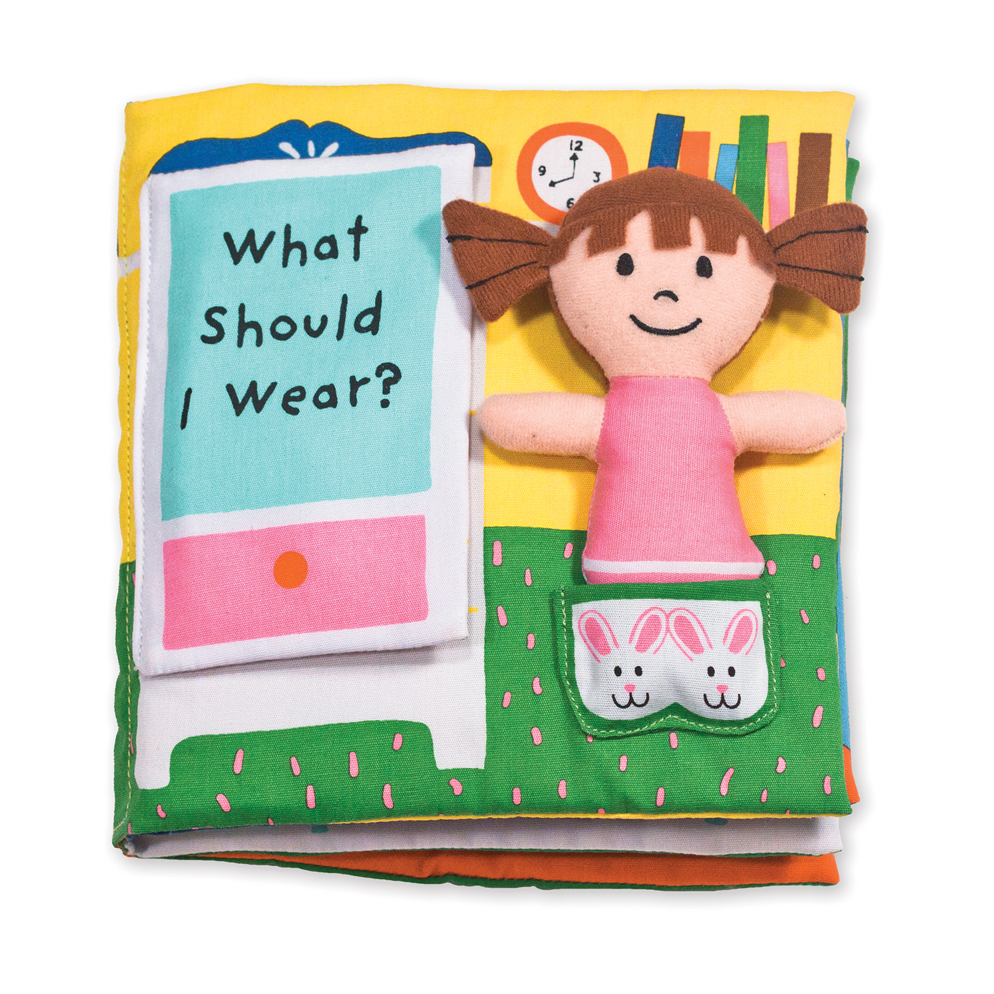 Melissa & Doug ~ Soft Activity Book - What Should I Wear? 0+