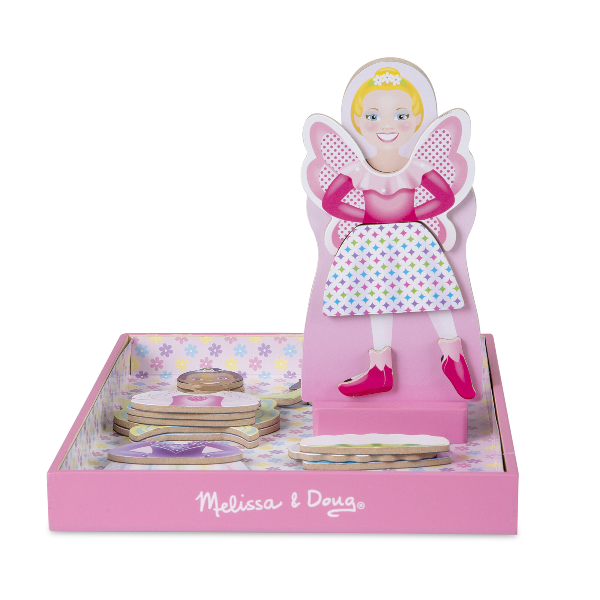 Melissa & Doug ~ Tutus & Wings Magnetic Dress-Up Set
