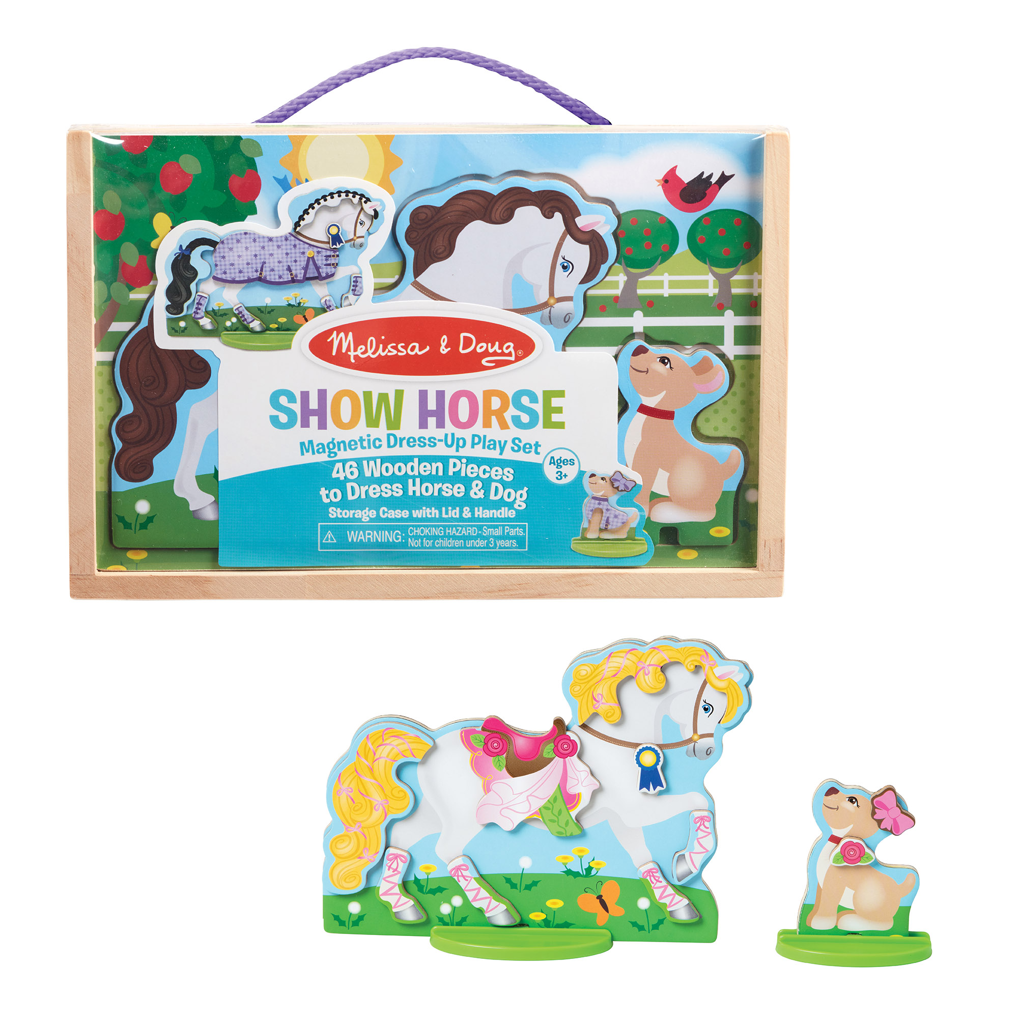Melissa & Doug ~ Show Horse Magnetic Dress-Up Play Set