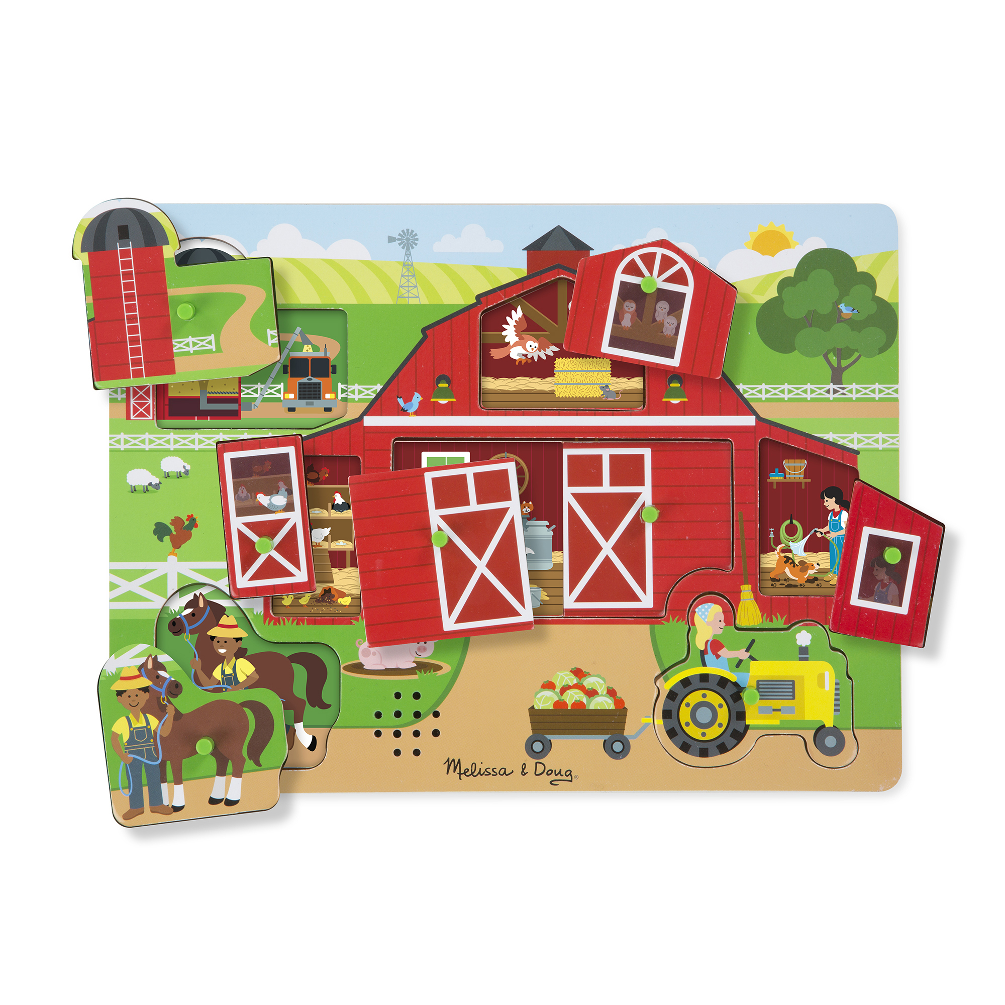 Melissa & Doug Sound Puzzle ~ Around the Farm  2+