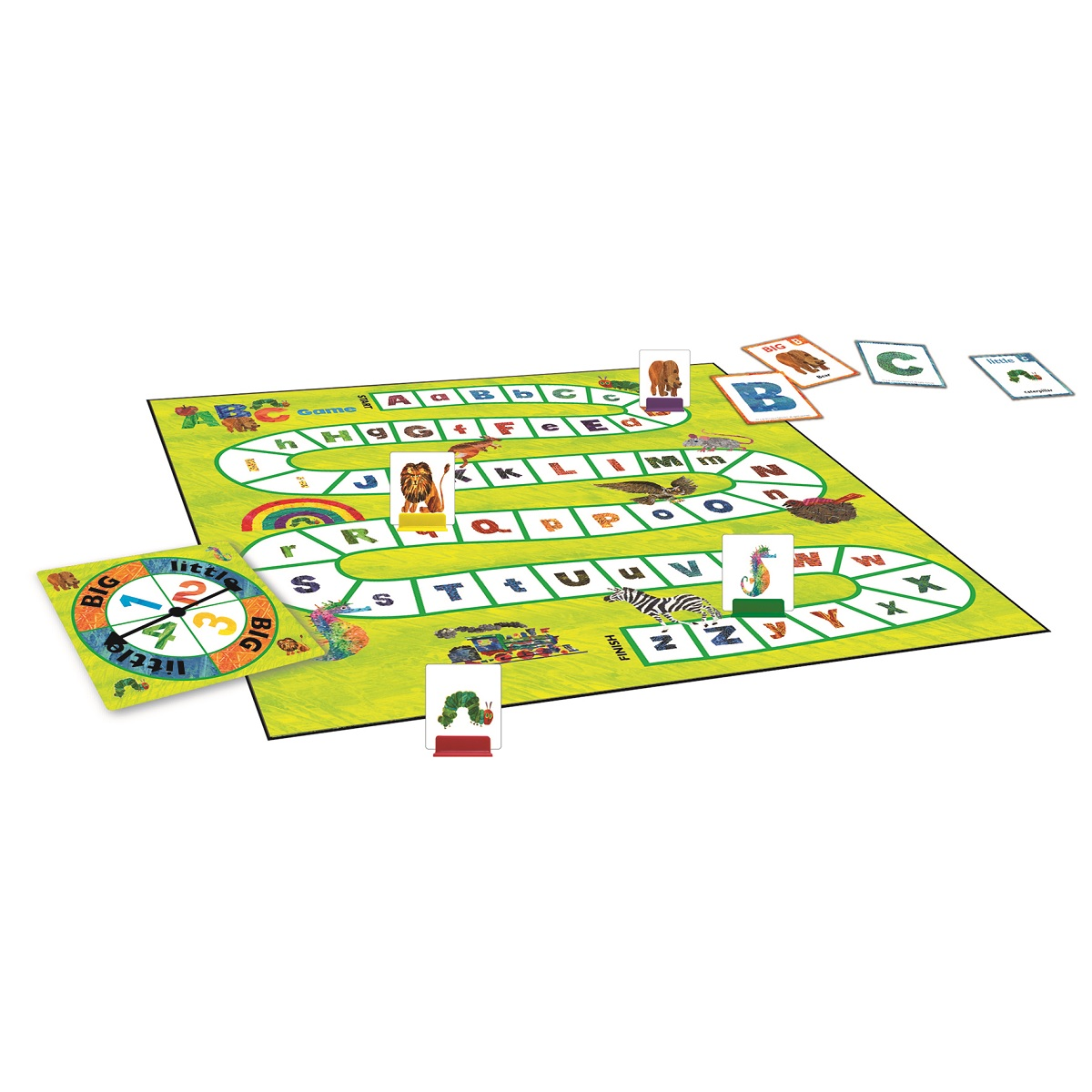 The Very Hungry Caterpillar, Spin & Seek Abc Game by BRIARPATCH