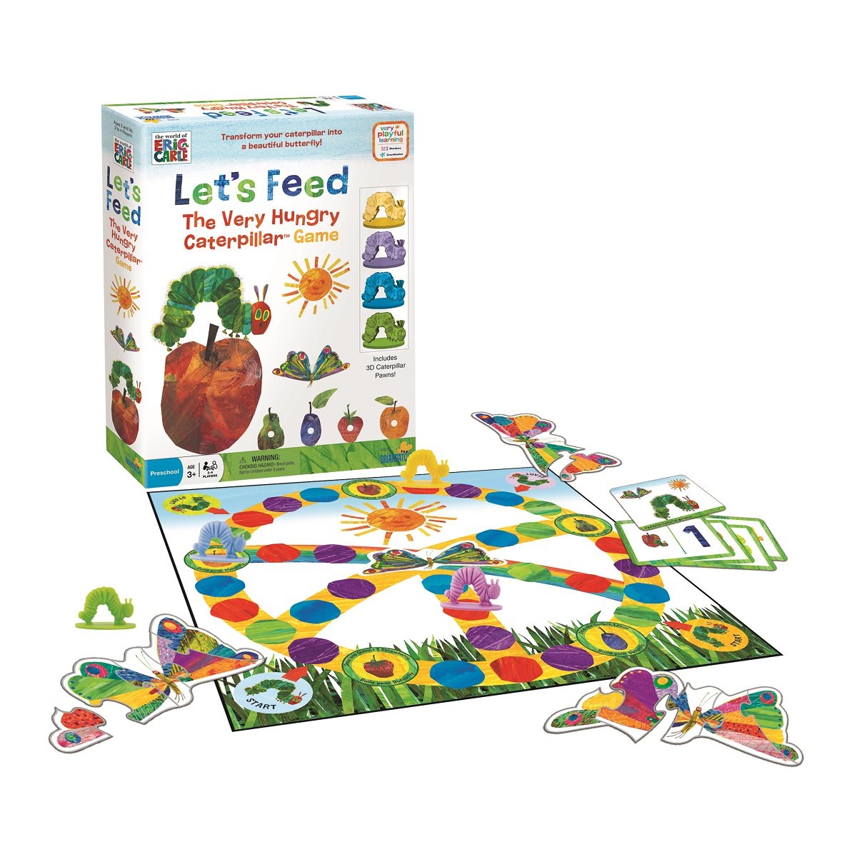 Let's Feed The Very Hungry Caterpillar Game by BRIARPATCH