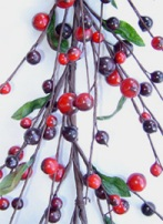 Christmas Berry Garlands