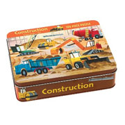 Mudpuppy 100 Piece Puzzle -- Construction