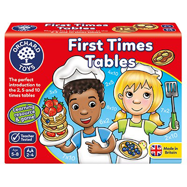 First Times Tables Game by Orchard Toys 5+