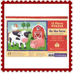 On the Farm Mud puppy 12 pc puzzle