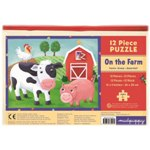 Mudpuppy 12 Piece Puzzle -- On the Farm