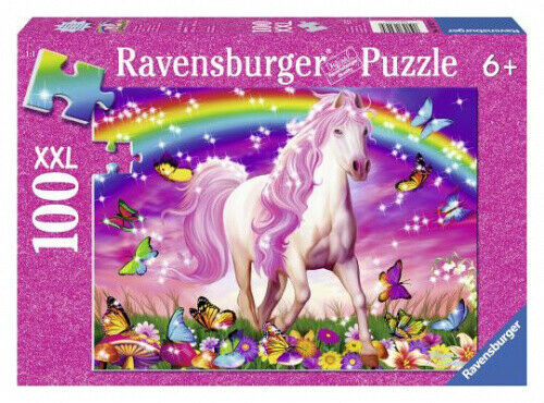 Ravensburger - Horse Dream  GLITTER ~ Jigsaw Puzzle 100 pieces 6+