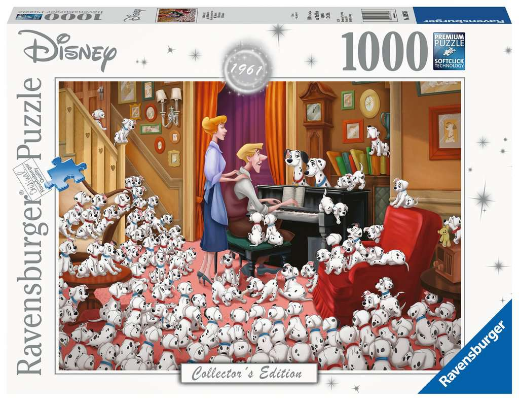 Ravensburger ~ Disney Moments 1961 Dalmations ~ Puzzle 1000 pcs