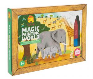Magic Painting World - Safari Adventures by Tiger Tribe