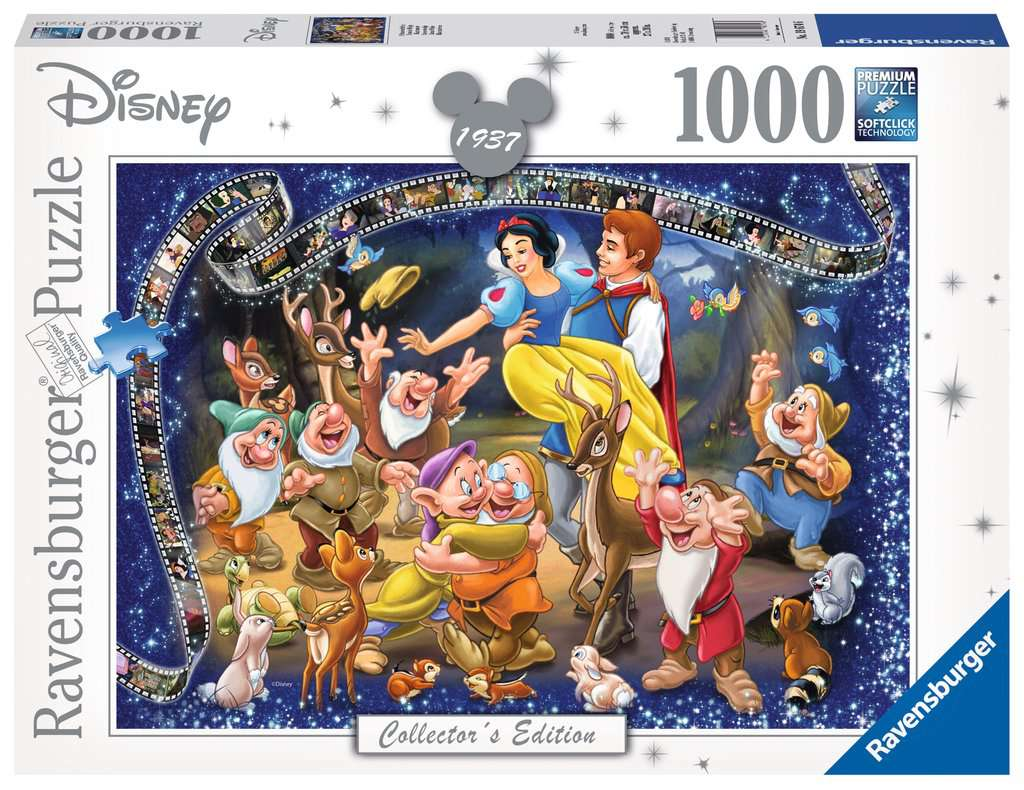 Ravensburger ~ Disney Moments 1937 Snow White ~ Puzzle 1000 pcs
