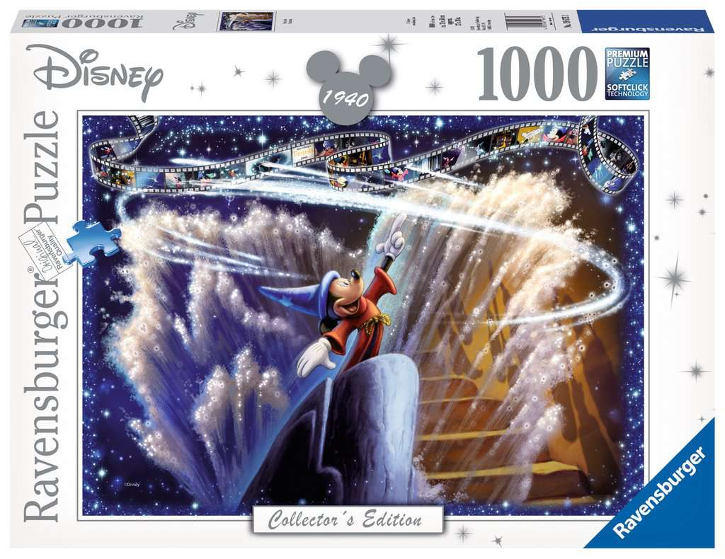 Ravensburger ~ Disney Moments 1940 Fantasia ~ Puzzle 1000 pcs