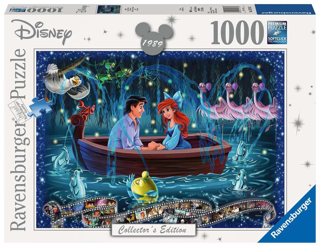 Ravensburger ~ Disney Moments 1989 Little Mermaid ~ Puzzle 1000 pcs