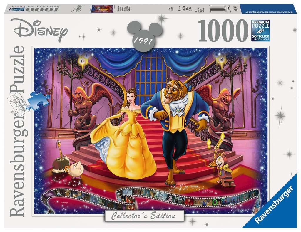 Ravensburger ~ Disney Moments 1991 Beauty & the Beast ~ Puzzle 1000 pcs