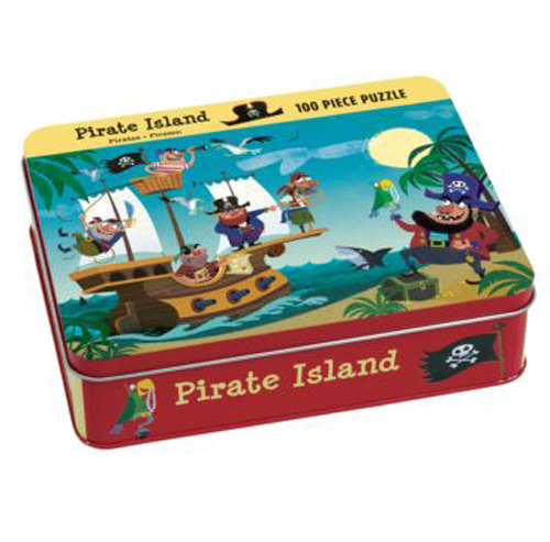 Mudpuppy 100pc Pirate Island puzzle