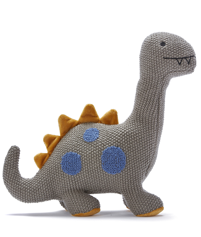 Otis the Diplodocus Dino cuddly toy by NANA HUCHY