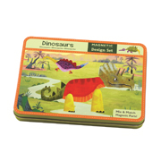 Mudpuppy -- Magnetic Design play set -- Dinosaurs