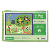 Mudpuppy 12 Piece Puzzle -- Forest Friends