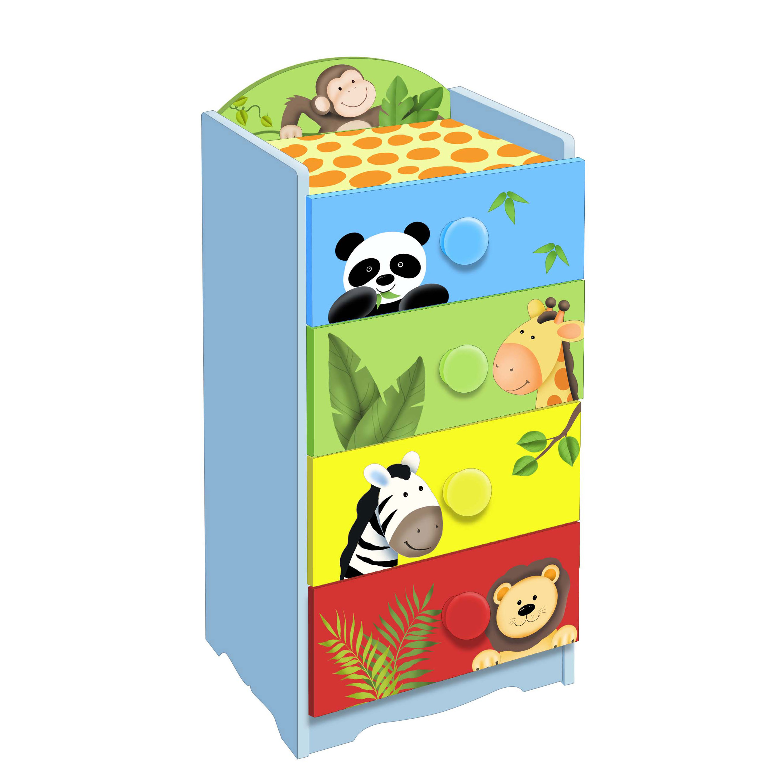 Sunny Safari 4 drawer cabinet