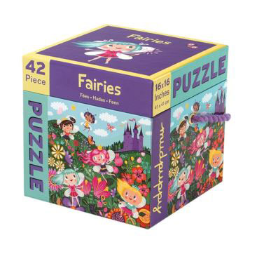 Mudpuppy 42 piece puzzle Fairies