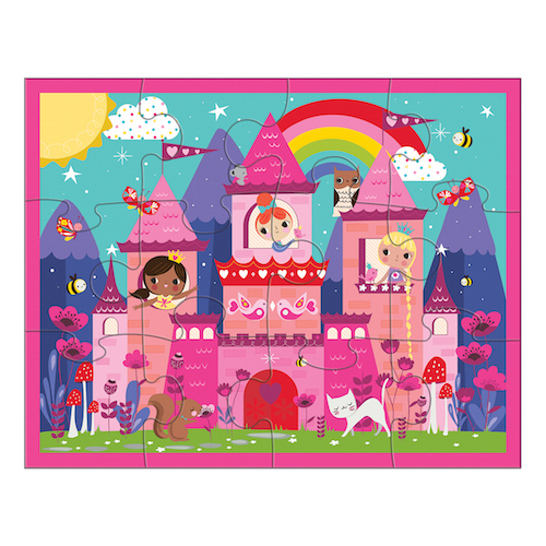 Mudpuppy 12 Piece Puzzle  Princess Castle