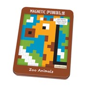 Mudpuppy ~ Zoo Animals Magnetic Pixels