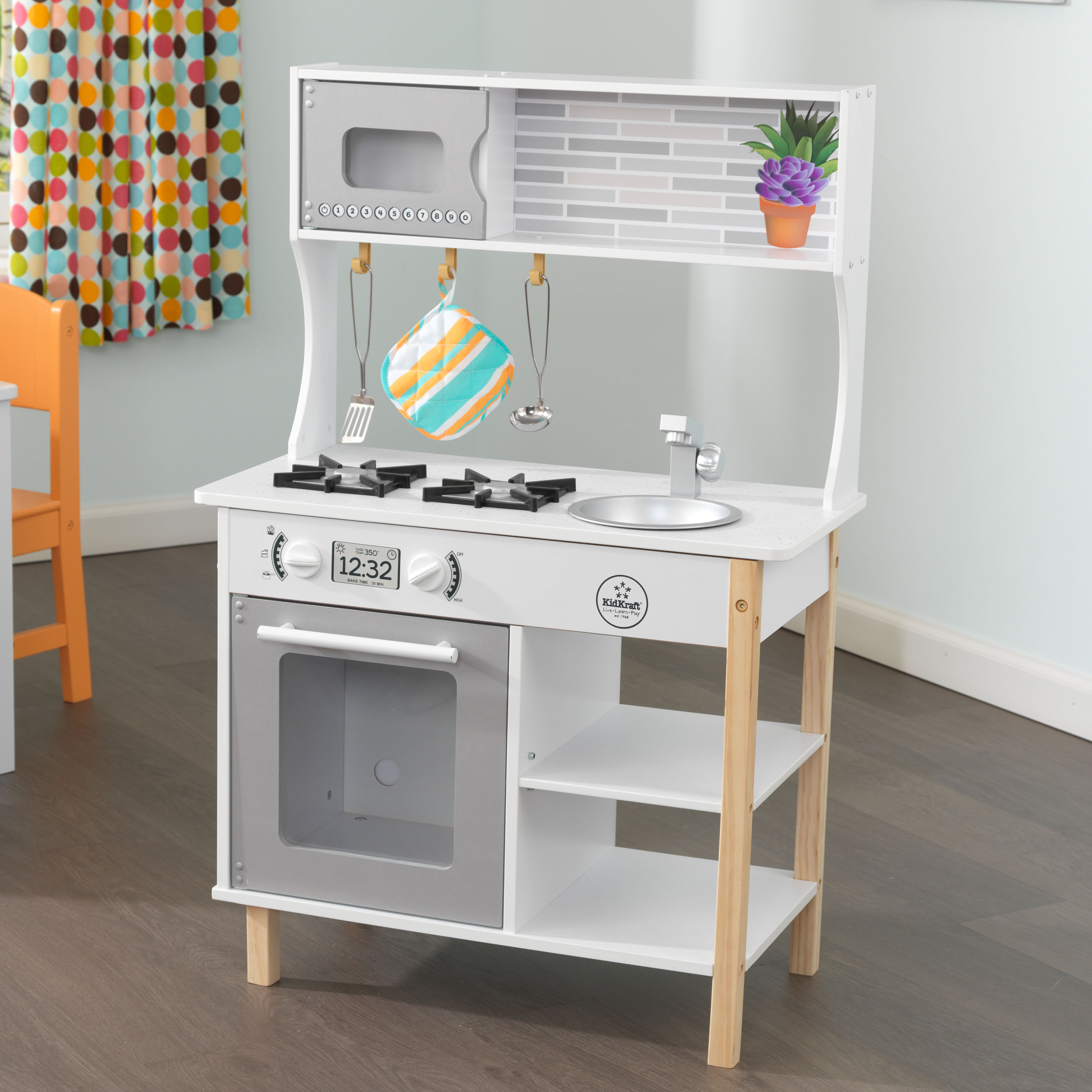 Kidkraft All Time Play Kitchen with 38 accessories