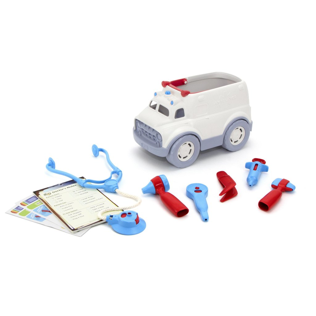 Green Toys ~ Ambulance & Doctor's Kit