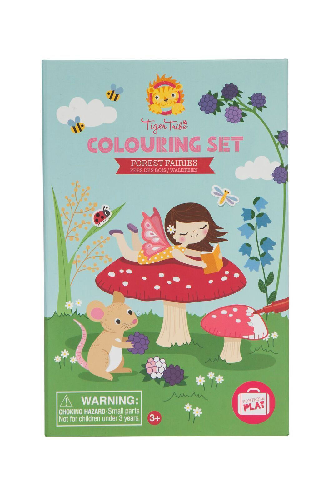 Colouring set - Forest Fairies by Tiger Tribe