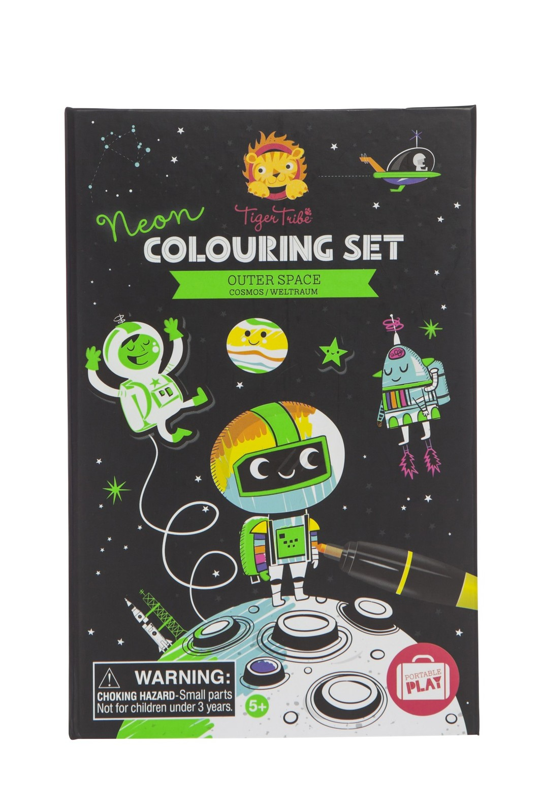 Colouring Neon Set ~ Outer Space by Tiger Tribe
