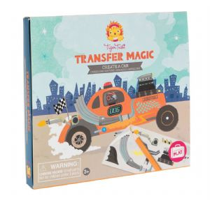 Transfer Magic - Create A Car by Tiger Tribe 3+