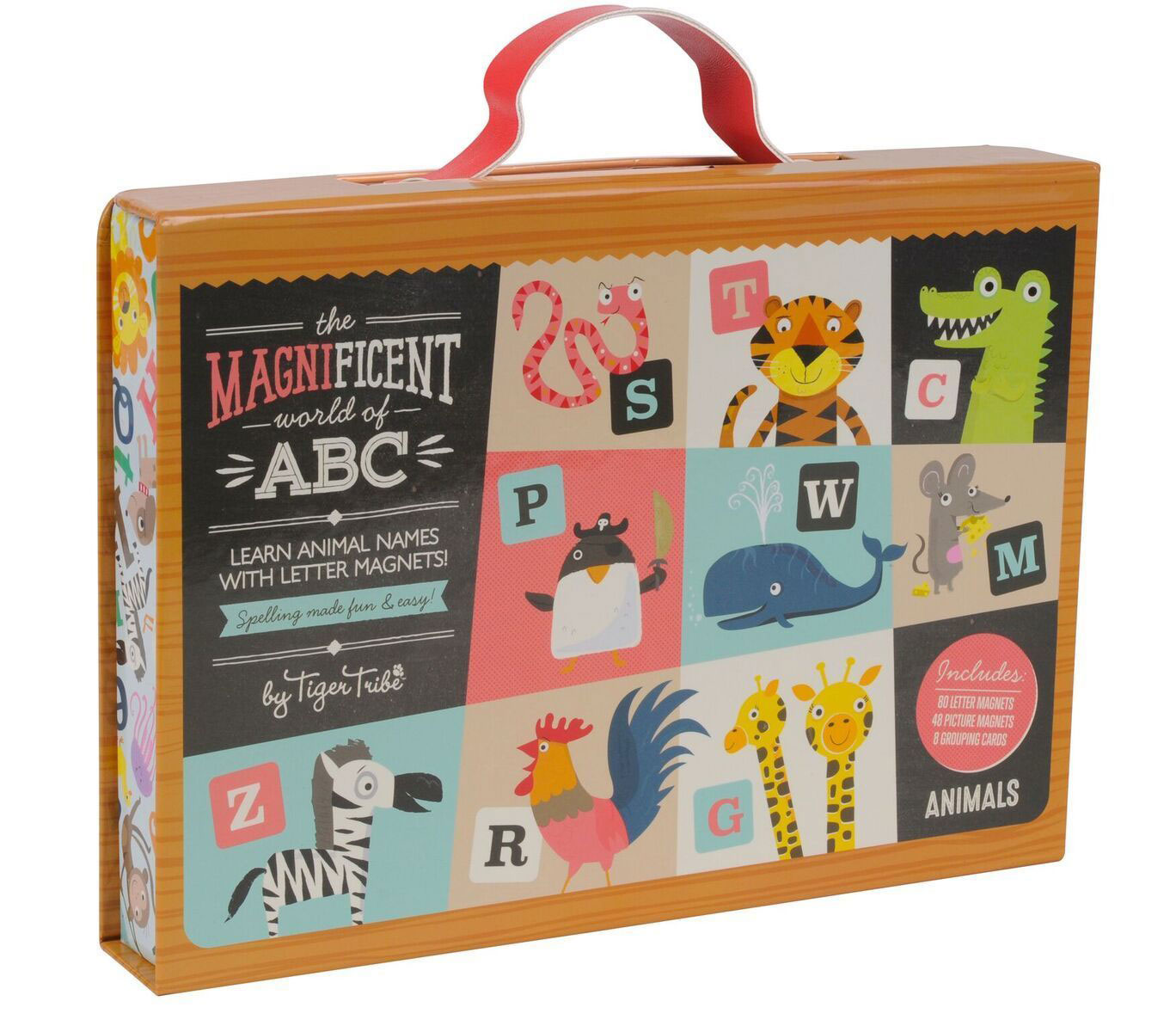 Magnificent World of ABC Magnetic set by Tiger Tribe - Animals ~ spelling made fun & easy