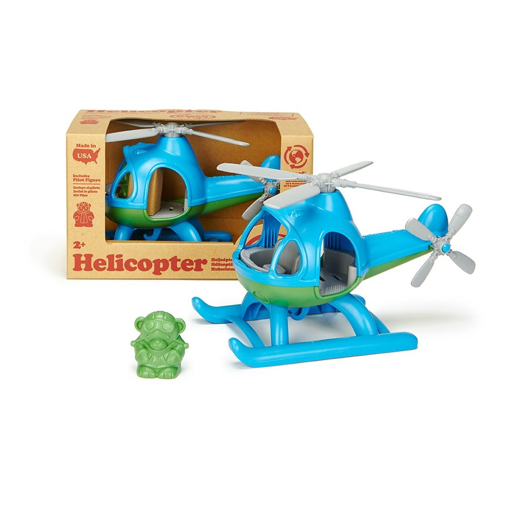 Green Toys ~ Helicopter ~ Blue 2+