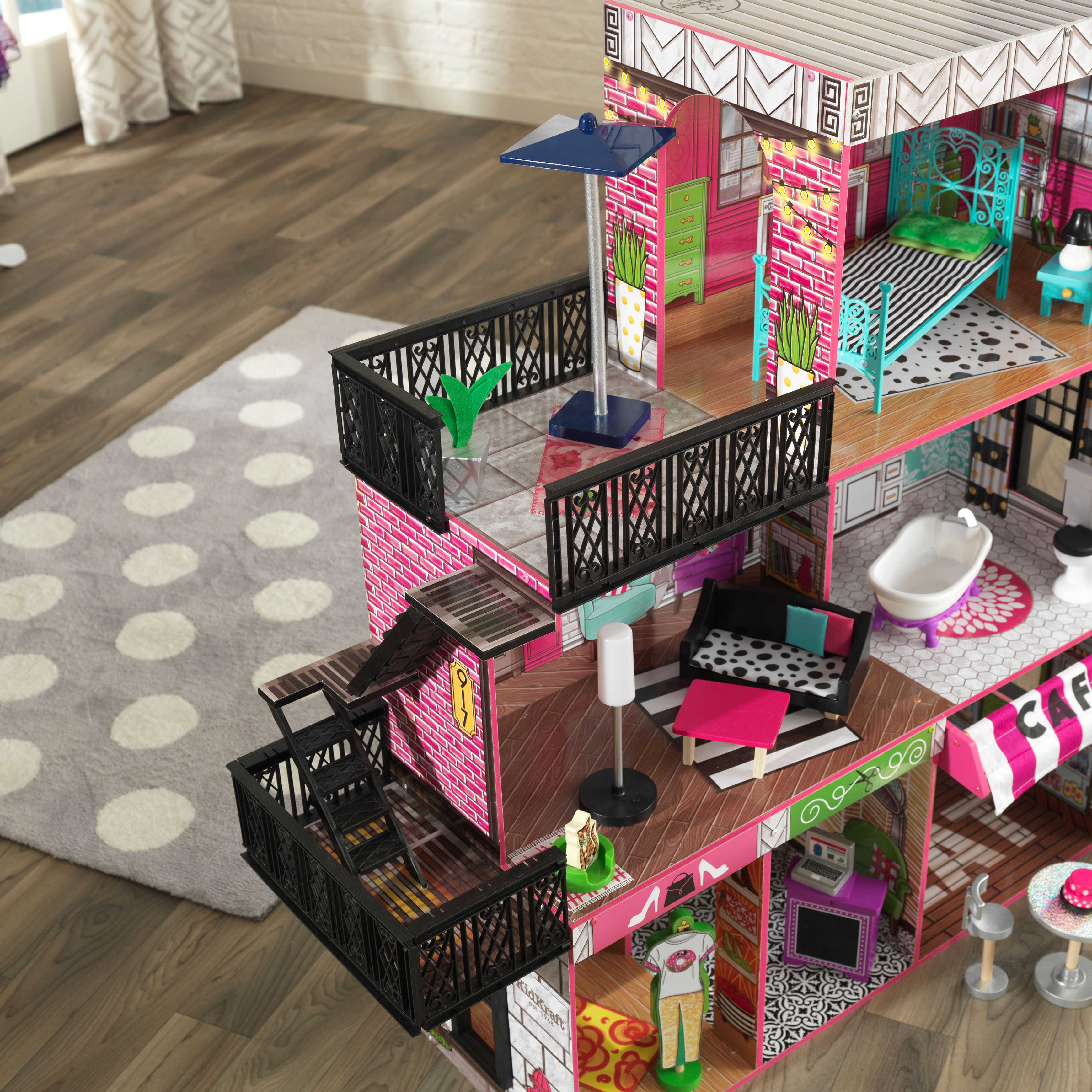 Brooklyns Loft Dollhouse by Kidkraft