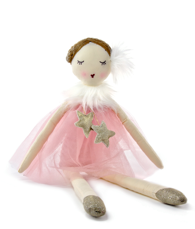 Star Dust in Pink ~ Doll by NANA HUCHY