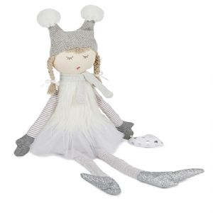 Bubbles the Fairy in Sparkling Silver ~ Doll by NANA HUCHY