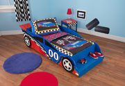 Racecar Toddler Bed by Kidkraft