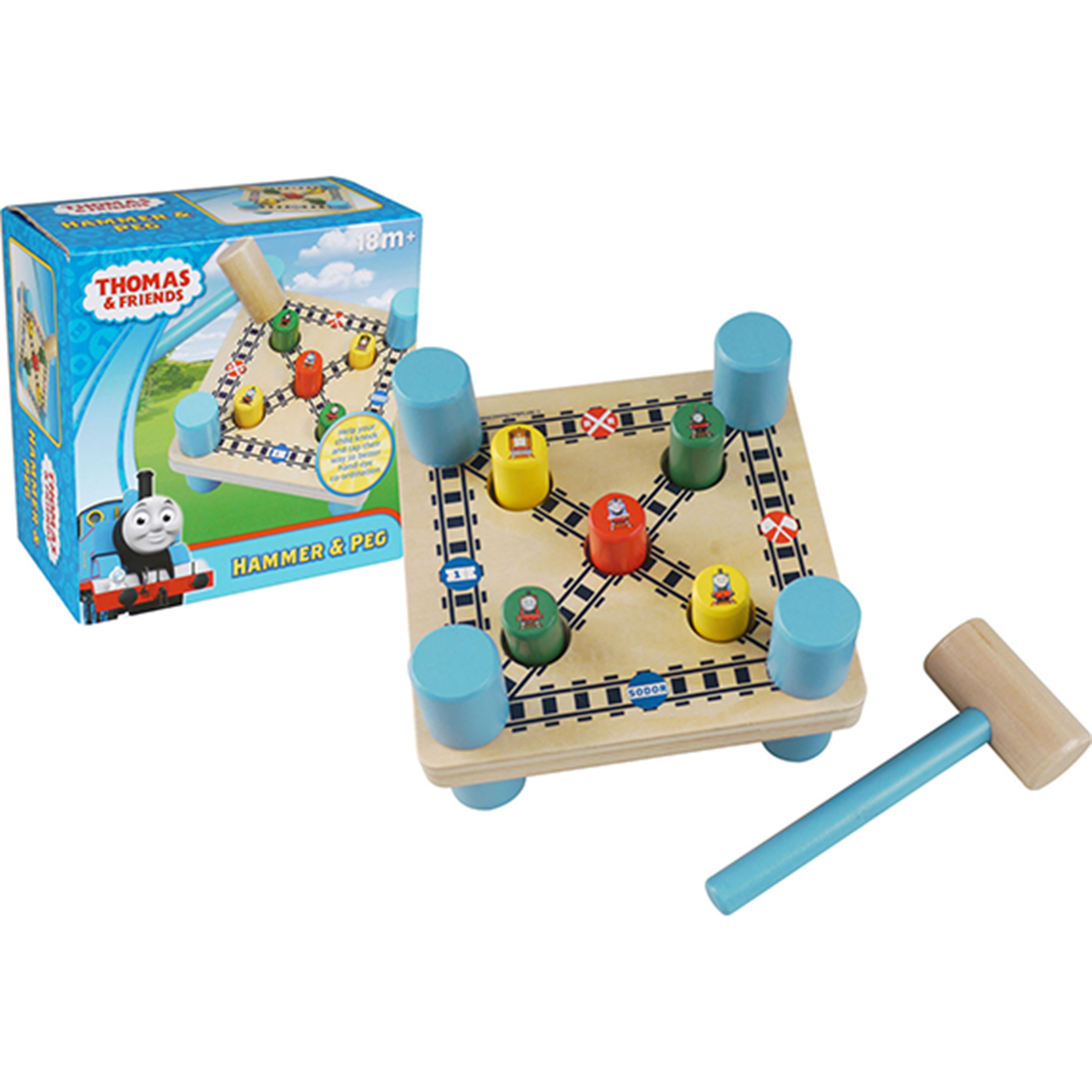 Thomas and Friends Hammer & Peg Game by Tree Toys