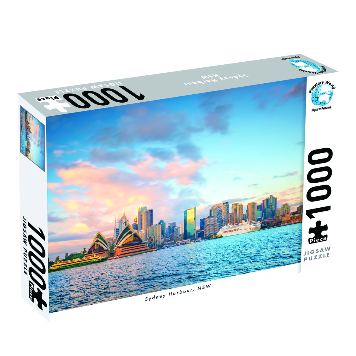 Puzzlers World ~ Artistic Jigsaw 1000pc Puzzles ~ Sydney Harbour