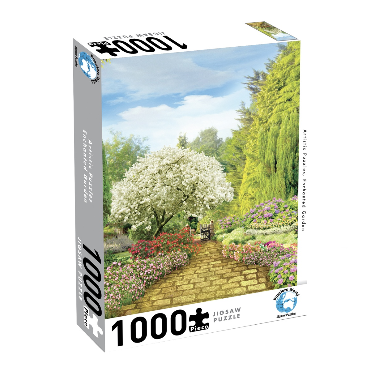 Puzzlers World ~ Artistic Jigsaw 1000pc Puzzles ~ Enchanted Garden