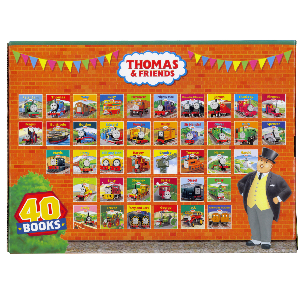 Thomas & Friends The Engine Shed Story Collection 40 Book Set