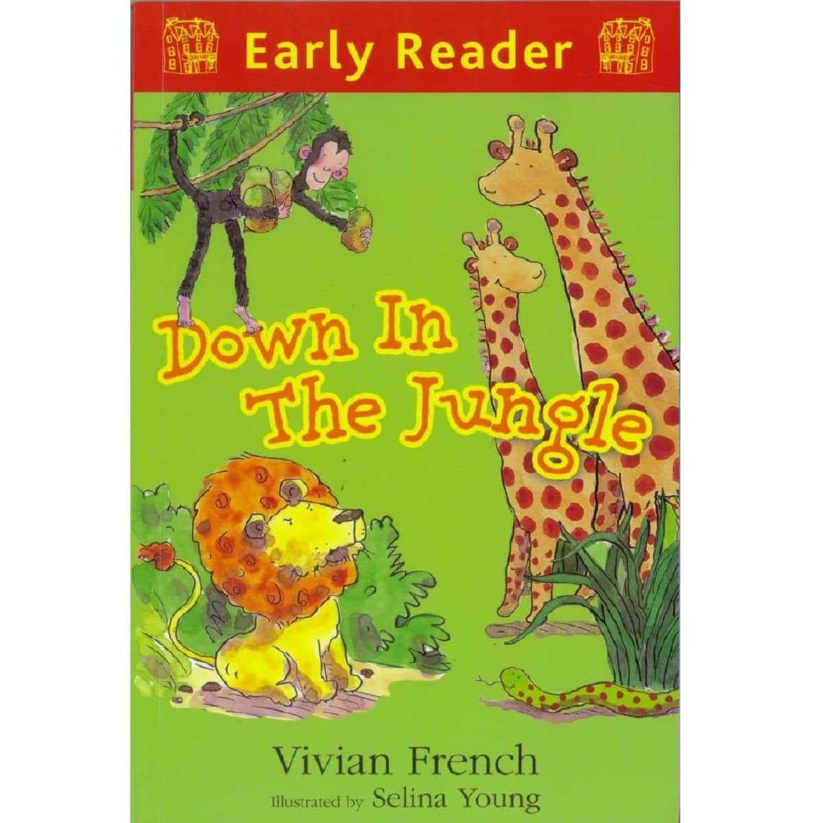 Early Reader ~ Down In The Jungle, by Vivian French