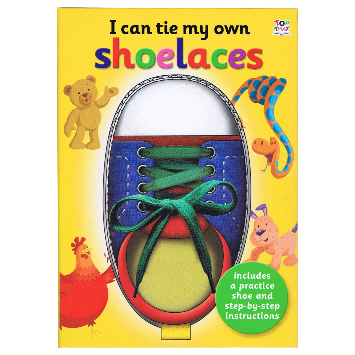 I Can Tie Shoe Laces – By Oakley Graham, Illustrated by Barry Green