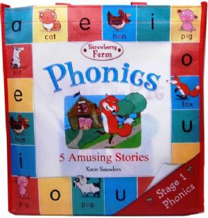 Phonics set 5 Books In Bag ~ 5 Amusing Stories by Kate Saunders