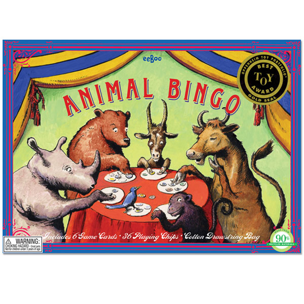 eeboo - Bingo game - Animal
