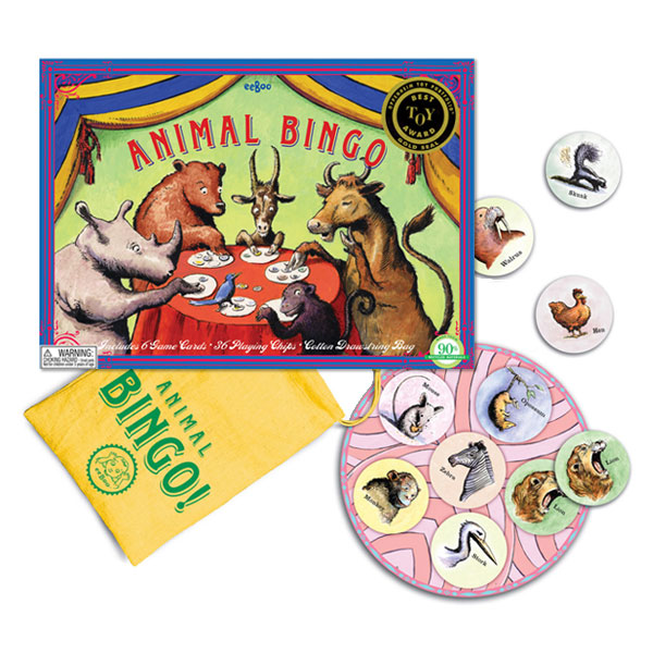 eeBoo Bingo game - Animal