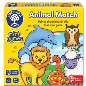 Animal Match Mini Game by Orchard Toys 3+