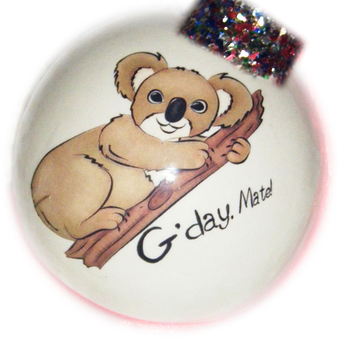 Personalised Australiana Baubles, Souvenirs